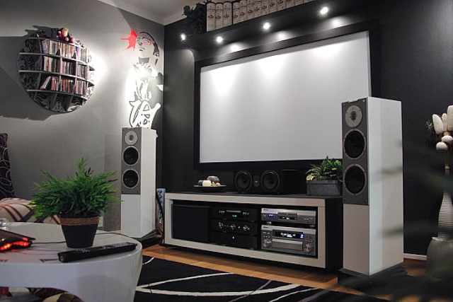 Home Theater Installations - Near Wilkes-Barre, PA - Red Frog Networks, LLC.